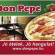 Don Pepe Étterem & Pizzéria - Gépmadár utca