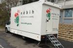 A Nébih mobil laborja (Fotó: hungast.hu)