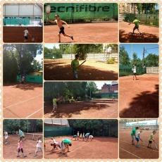 tenisztábor