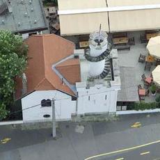 Csősztrorony Bisztró légi felvétel