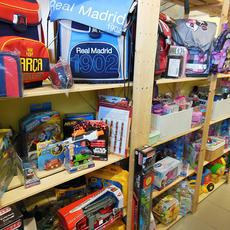 Iskolai termékek és játékok