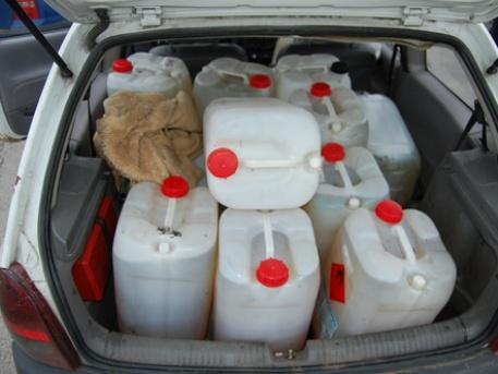 """Ennyire azért nem érdemes """"betankolni"""", de aki teheti, az csütörtökön tankoljon (Fotó: koronaradio.hu)"""