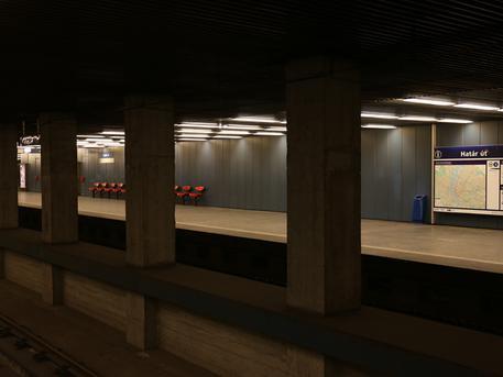 A Határ úti metróállomás is megújul (fotó: BKV)