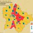A tavaszi országgyűlési választások eredménye a fővárosban, illetve a kerületek lélekszáma, szavazók száma (forrás: geoindex.hu)