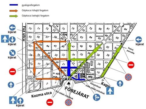 új köztemető térkép X. kerület   Kőbánya   Ismét változik a temető forgalmi rendje új köztemető térkép