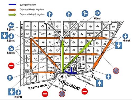új köztemető budapest térkép X. kerület   Kőbánya | A hosszú hétvégén változik a temető  új köztemető budapest térkép